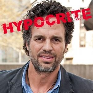 Mark Ruffalo hypocrite
